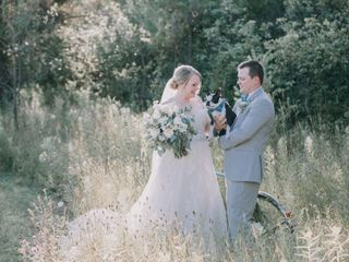 The wedding of Nikki and Mike