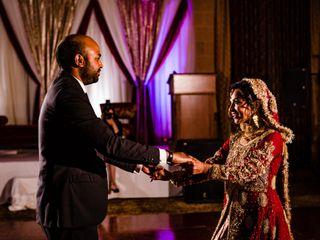 The wedding of Kanwal and Joel 2