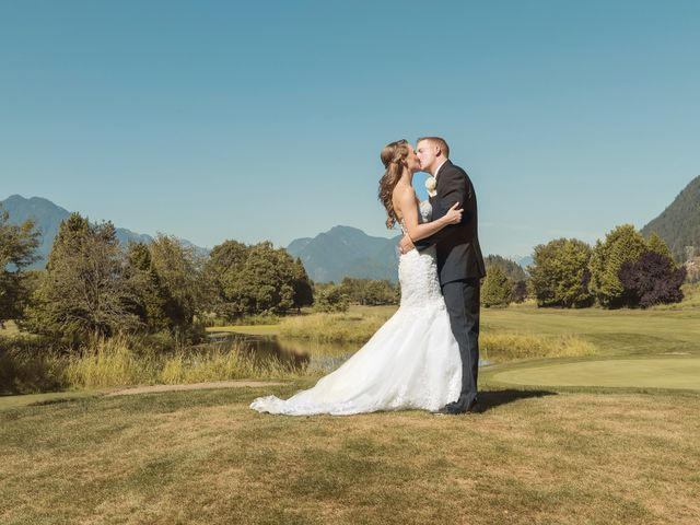 James and Jennifer's wedding in Surrey, British Columbia 1