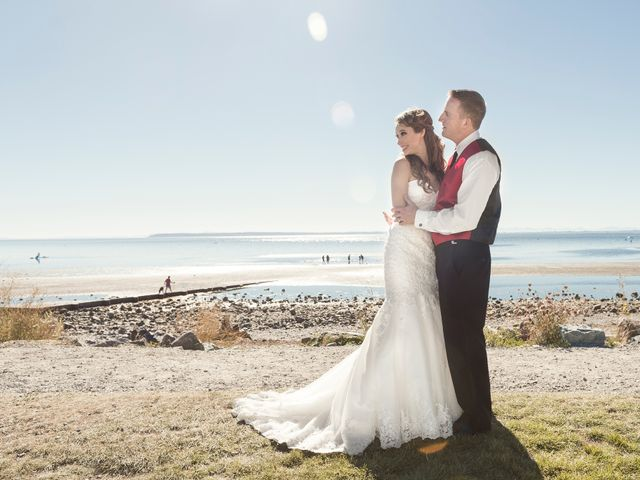 James and Jennifer's wedding in Surrey, British Columbia 11