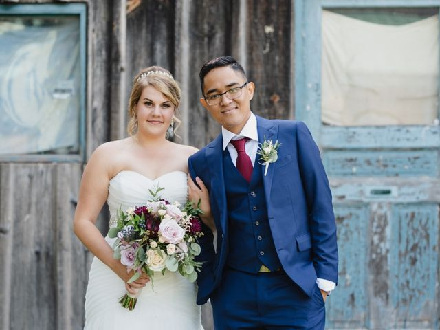 The wedding of Emily and Jerick