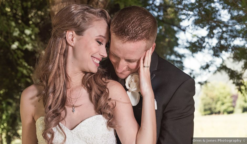 James and Jennifer's wedding in Surrey, British Columbia