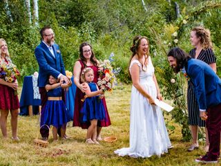 The wedding of Melissa and Renauld 1