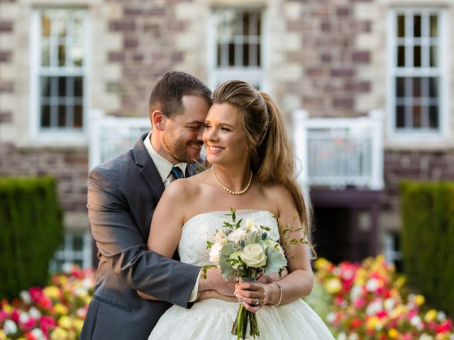 The wedding of Christa and Justin