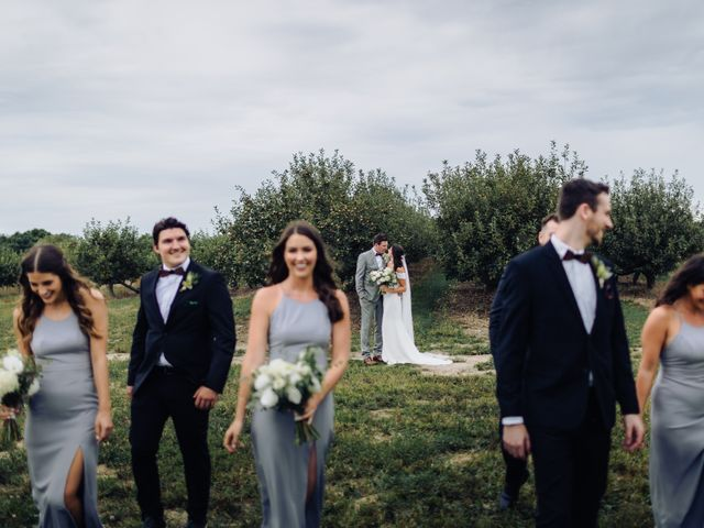 The wedding of Emilie and Nicholas