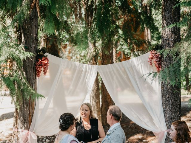 Colin and Rupi's wedding in Scotch Creek, British Columbia 13