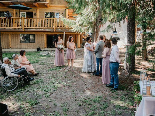 Colin and Rupi's wedding in Scotch Creek, British Columbia 14