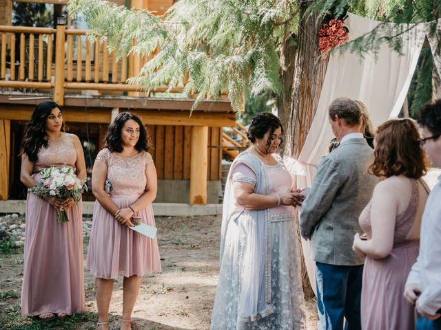 Colin and Rupi's wedding in Scotch Creek, British Columbia 15