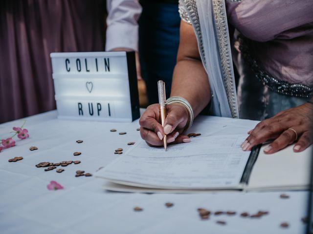 Colin and Rupi's wedding in Scotch Creek, British Columbia 17