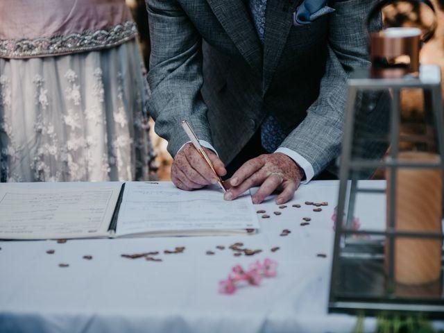 Colin and Rupi's wedding in Scotch Creek, British Columbia 18