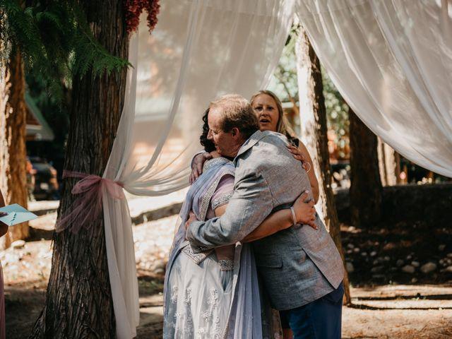 Colin and Rupi's wedding in Scotch Creek, British Columbia 19