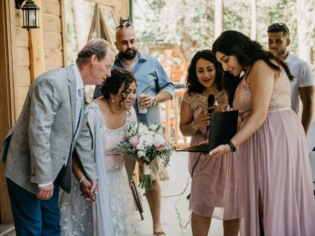 Colin and Rupi's wedding in Scotch Creek, British Columbia 22