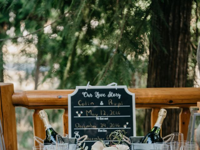 Colin and Rupi's wedding in Scotch Creek, British Columbia 24