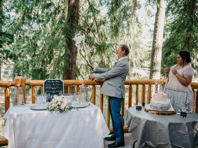 Colin and Rupi's wedding in Scotch Creek, British Columbia 26