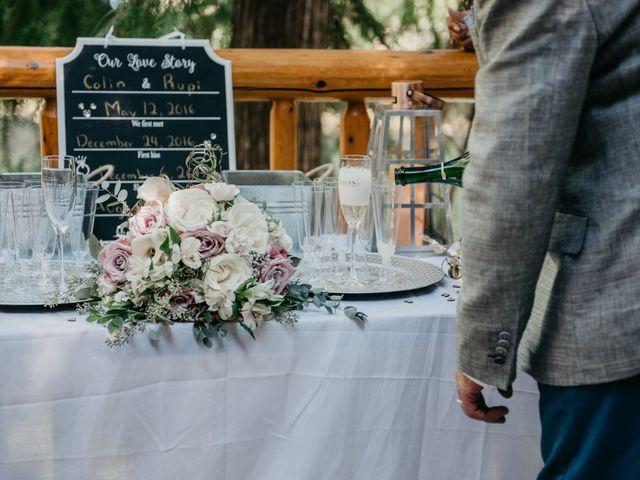 Colin and Rupi's wedding in Scotch Creek, British Columbia 27
