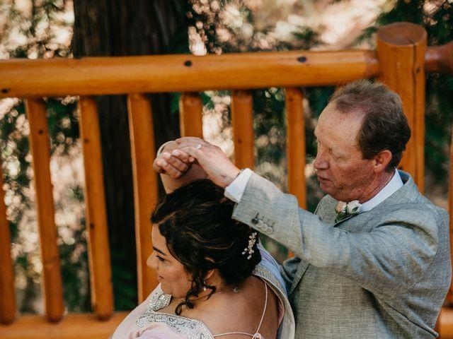 Colin and Rupi's wedding in Scotch Creek, British Columbia 30