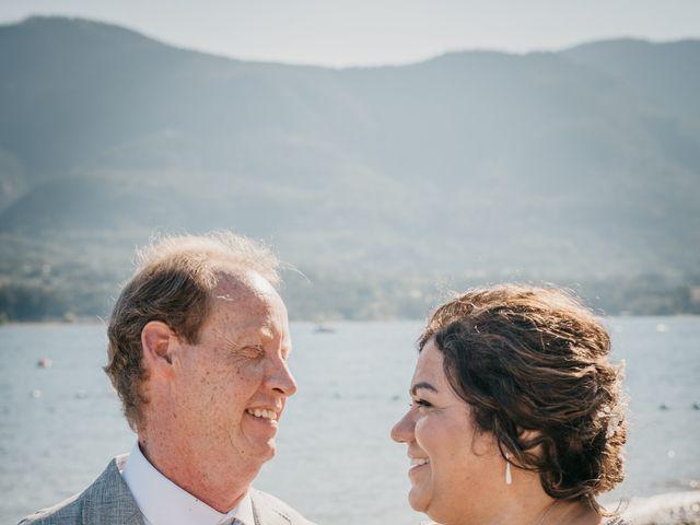 Colin and Rupi's wedding in Scotch Creek, British Columbia 38