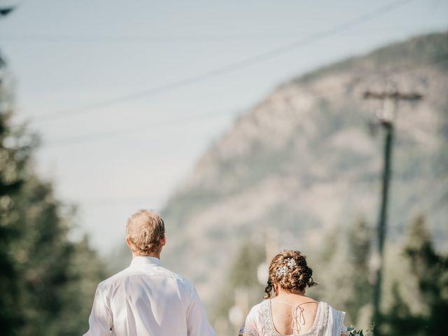 Colin and Rupi's wedding in Scotch Creek, British Columbia 40