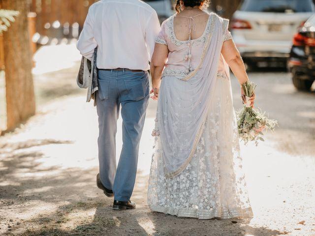 Colin and Rupi's wedding in Scotch Creek, British Columbia 42
