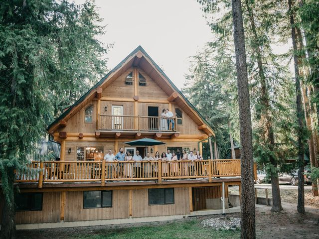 Colin and Rupi's wedding in Scotch Creek, British Columbia 43