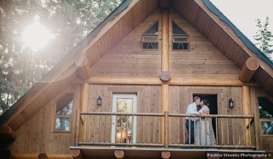 Colin and Rupi's wedding in Scotch Creek, British Columbia
