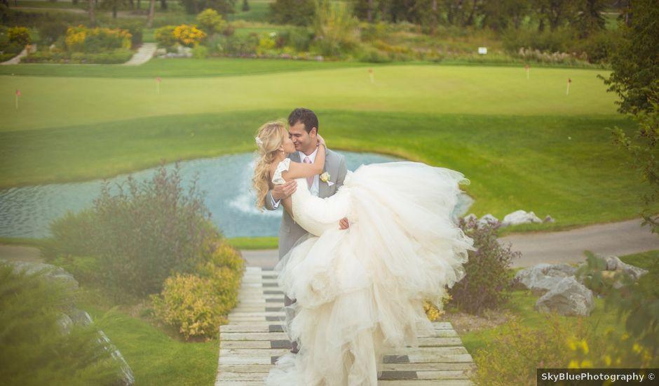 Ross And Aprile Lu's Wedding In Calgary, Alberta
