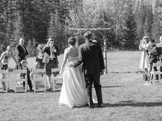 The wedding of Ashley Menzies and Chris Jones 1
