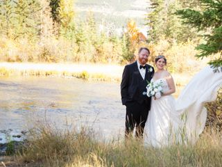 The wedding of Ashley Menzies and Chris Jones