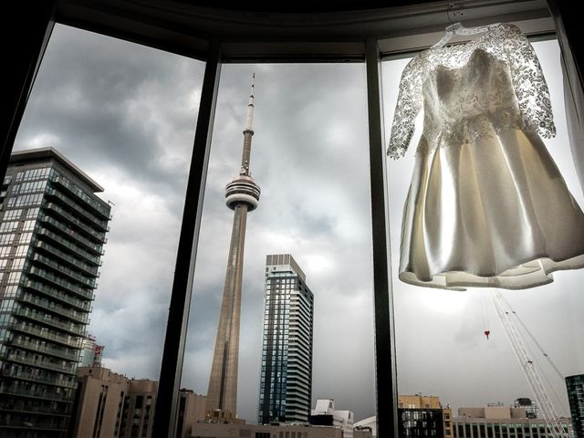 Taylor and Kayla's wedding in Toronto, Ontario 7