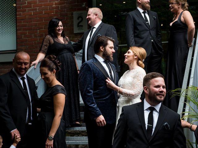 Taylor and Kayla's wedding in Toronto, Ontario 31
