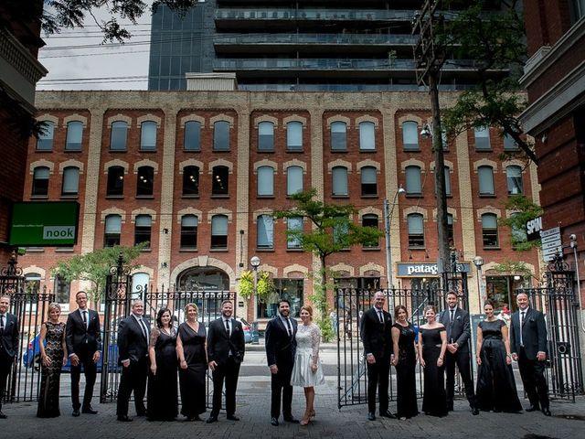Taylor and Kayla's wedding in Toronto, Ontario 33