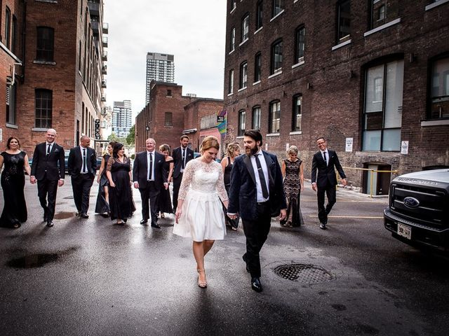 Taylor and Kayla's wedding in Toronto, Ontario 35