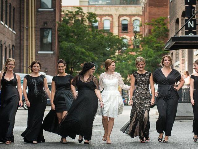 Taylor and Kayla's wedding in Toronto, Ontario 36