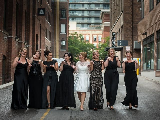 Taylor and Kayla's wedding in Toronto, Ontario 37