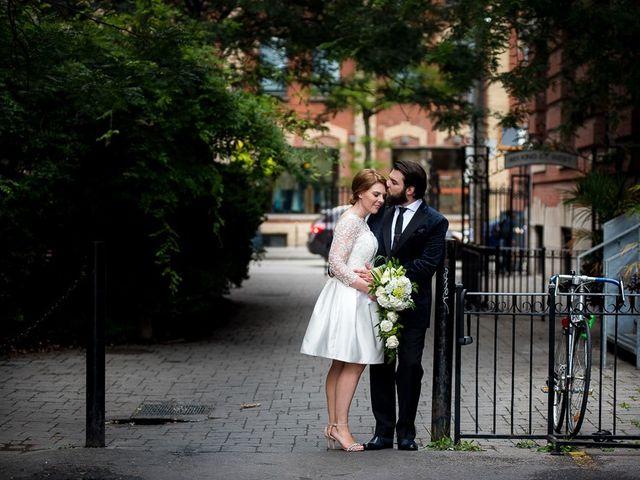 Taylor and Kayla's wedding in Toronto, Ontario 1