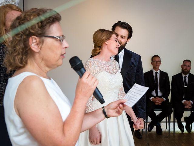 Taylor and Kayla's wedding in Toronto, Ontario 41
