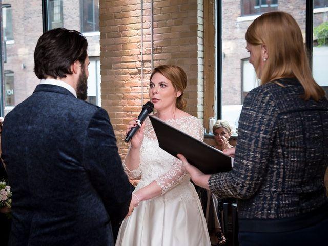 Taylor and Kayla's wedding in Toronto, Ontario 42
