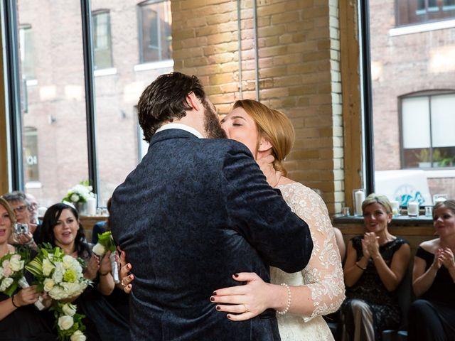 Taylor and Kayla's wedding in Toronto, Ontario 43
