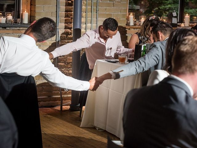 Taylor and Kayla's wedding in Toronto, Ontario 54