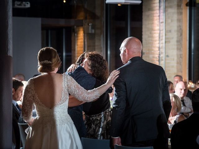 Taylor and Kayla's wedding in Toronto, Ontario 58