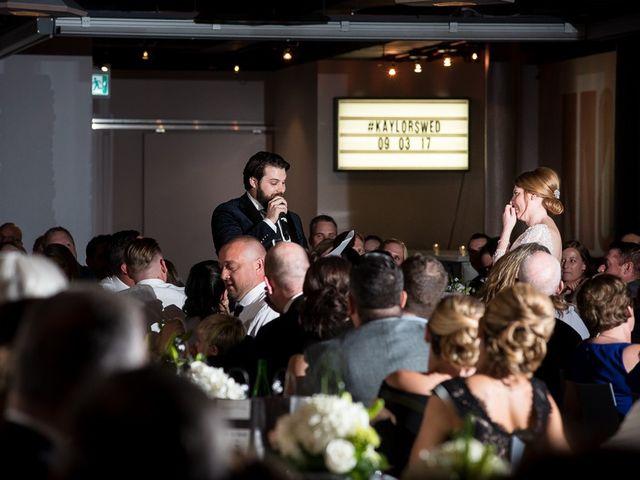 Taylor and Kayla's wedding in Toronto, Ontario 61
