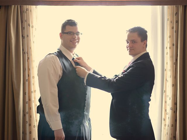 Michelle and Tim's wedding in Edmonton, Alberta 11