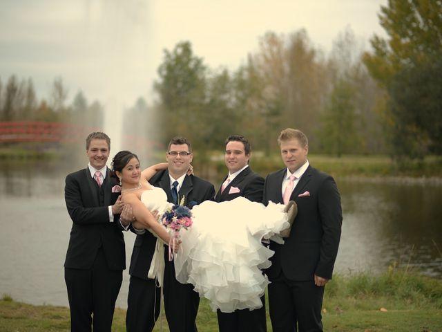 Michelle and Tim's wedding in Edmonton, Alberta 32