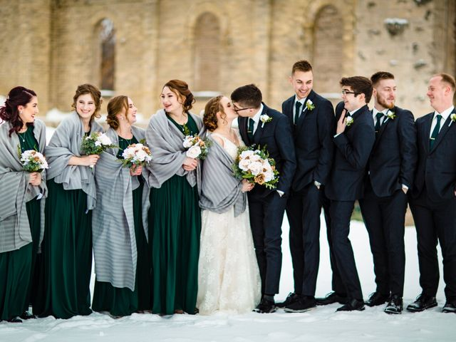 Joshua and Kaitlin's wedding in Niverville, Manitoba 7