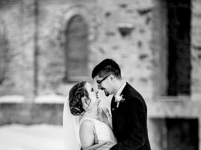 Joshua and Kaitlin's wedding in Niverville, Manitoba 8