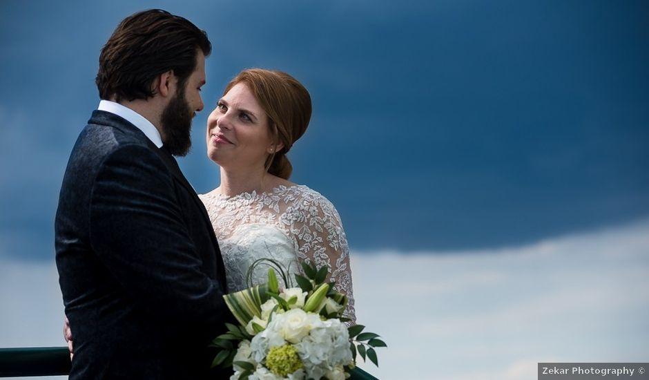 Taylor and Kayla's wedding in Toronto, Ontario