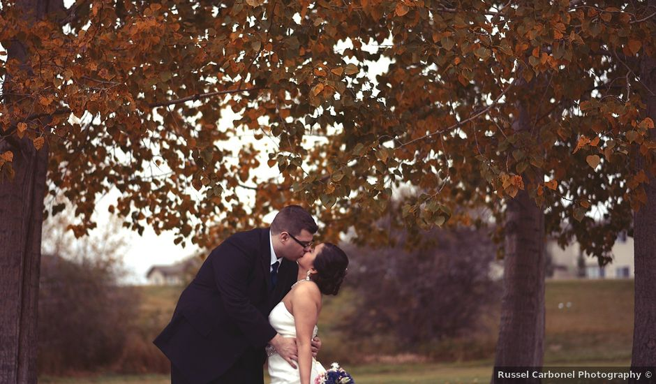 Michelle and Tim's wedding in Edmonton, Alberta