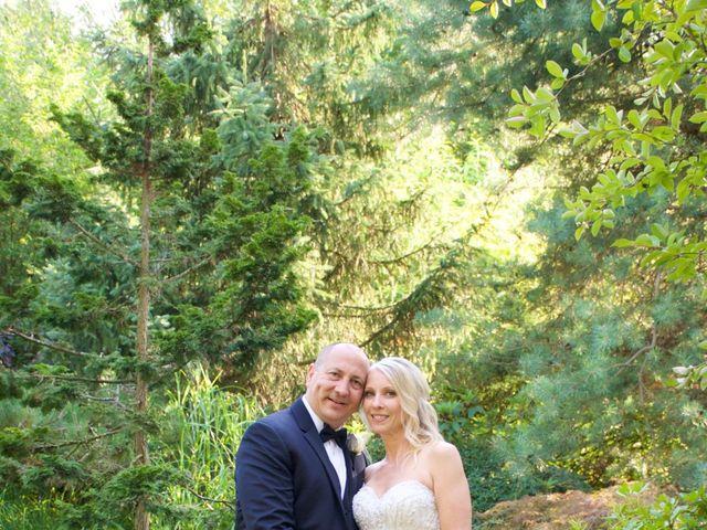 The wedding of Diane and Joe