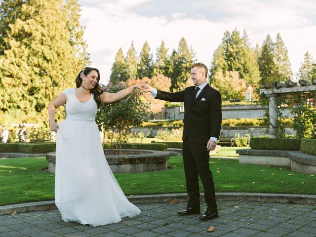 Sam and Nat's wedding in Vancouver, British Columbia 3