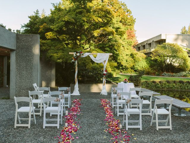 Sam and Nat's wedding in Vancouver, British Columbia 4